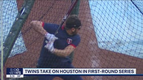Twins workout before beginning playoff run against Astros