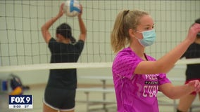 Minnesota high school athletes carefully return for the season amid pandemic