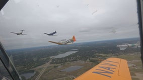 Pilots unite for 9/11 tribute flyover over Fort Snelling National Cemetery