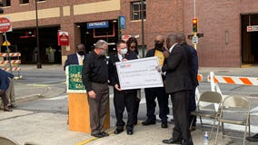 George Floyd Foundation awards first donation to Salvation Army Harbor Light Center