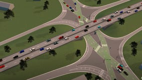 Diverging Diamond Interchange to open at intersection of highways 169, 41, 78