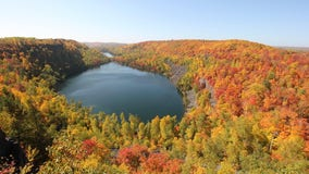 Northern half of Minnesota approaching peak fall color, DNR says