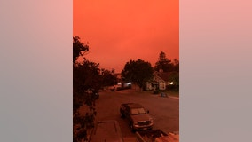 Dramatic photos: California residents wake up to raining ash and smoke-filled skies