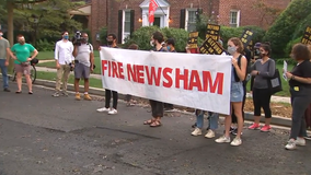Protesters gather outside DC mayor's home after officer shot, killed 18-year-old Deon Kay