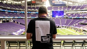 Vikings bring awareness to social justice issues before facing Packers at U.S. Bank Stadium