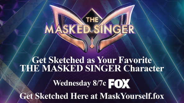 Get sketched as your favorite 'The Masked Singer' character