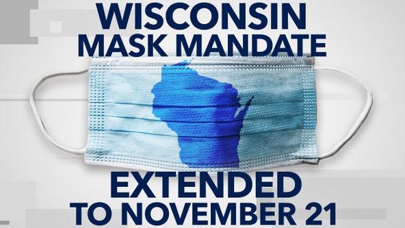 Gov. Evers extends Wisconsin mask mandate until Nov. 21