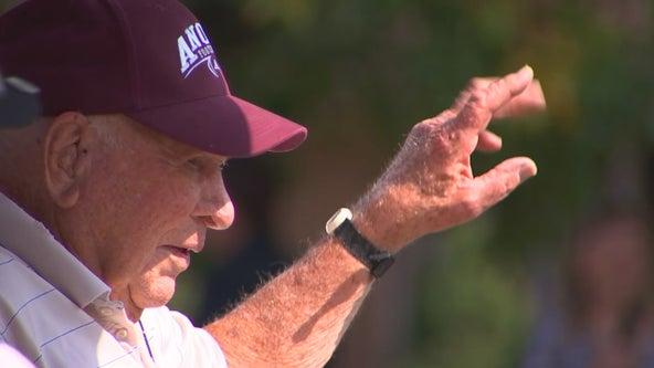 D-Day veteran, former Anoka football coach turns 100 years old