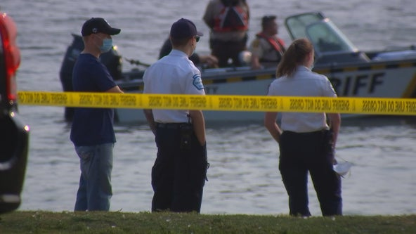 Crews searching Long Lake in New Brighton, Minn. for missing kayaker