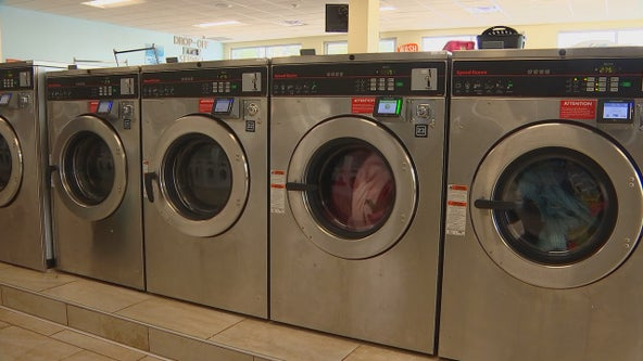 Free laundry day at St. Paul laundromat draws long lines