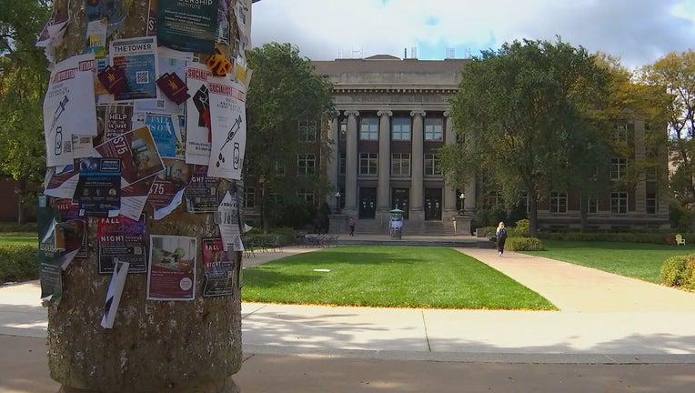 u of m campus