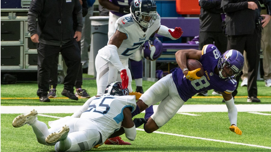 Vikings fall to Titans 31-30 despite big days from Justin Jefferson, Dalvin Cook