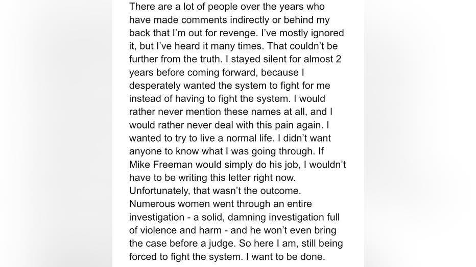 Abby Honold statement