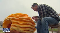 Giant pumpkin carvings turn heads in Shakopee