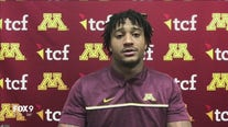 Fox 9 Sports chats with Minnesota Gophers player Chris Autman-Bell.