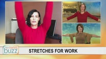 Get moving at work! Easy stretches you can do right at your desk