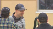 Waseca community lines up to welcome officer Arik Matson home