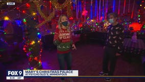 Psycho Suzi's trading in tiki torches for holiday lights