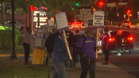 Over 200 Allina health care workers go on strike in Twin Cities