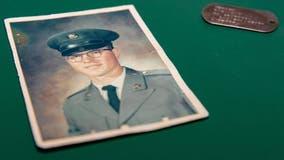 Vietnam veteran's ID tag returned to North Dakota widow after found in Russia