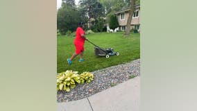 Brooklyn Center teen recognized for mowing 50 lawns for free