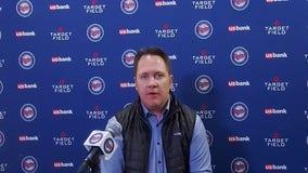 Derek Falvey recaps Twins' season, talks future after playoff loss