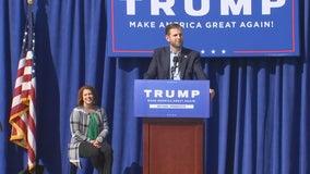 Eric Trump promises President Trump will win Minnesota in November
