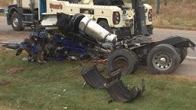 2 drivers dead after semi, car crash on Hwy. 19 near Northfield