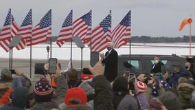 Vice President Pence holds rally in Hibbing, Minnesota