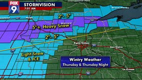 Wild weather day ahead for Twin Cities