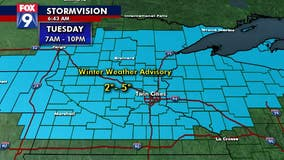 Early season snow arrives in Twin Cities metro, greater Minnesota