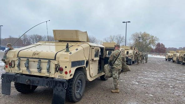 National Guard activated for possible unrest over Floyd rulings