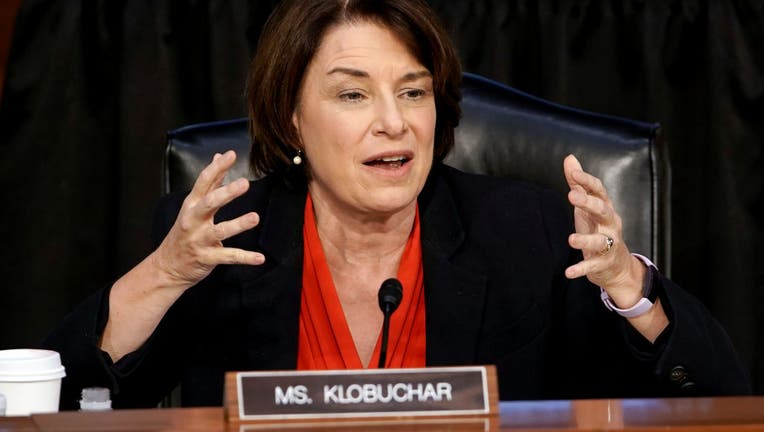 Klobuchar questions during confirmation hearing for Barrett