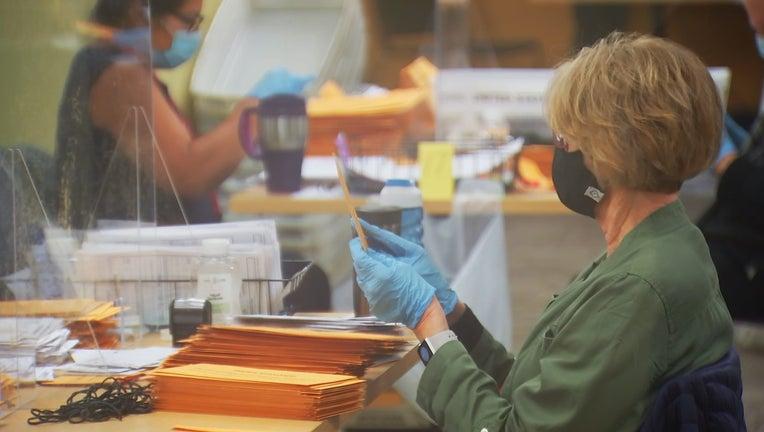 processing absentee ballots