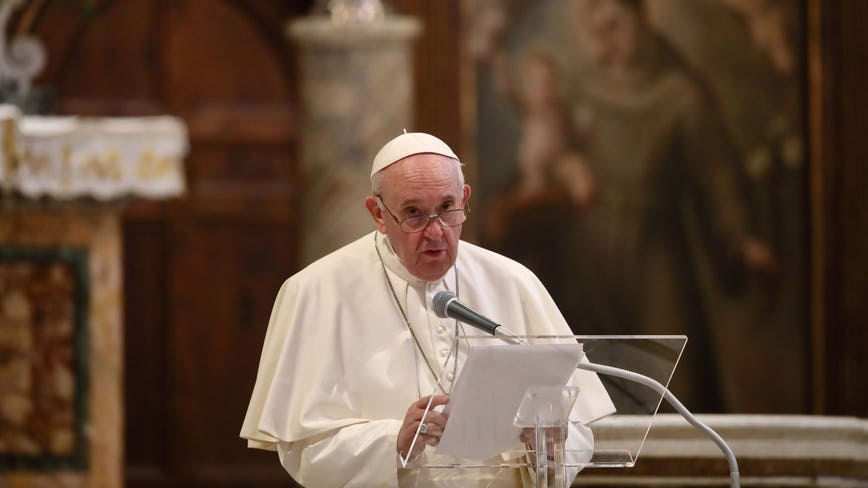 Pope Francis endorses same-sex civil unions in new documentary film