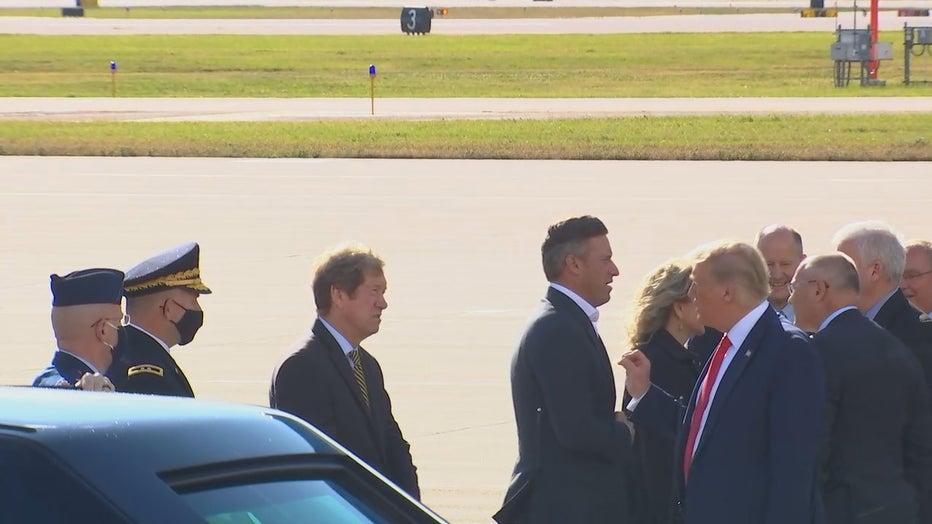 Trump greets Minnesota GOP members