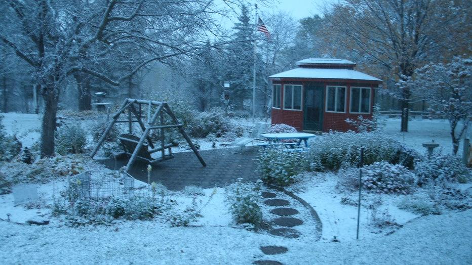 Cold Spring snow 10-16-20