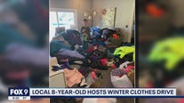 Burnsville, Minnesota boy hosts winter clothing drive