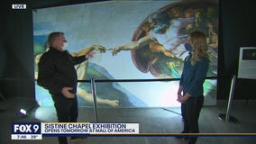 Michelangelo's Sistine Chapel exhibit arrives at Mall of America