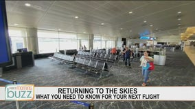 Catching a flight for the holidays? What to expect on the plane & at the terminal