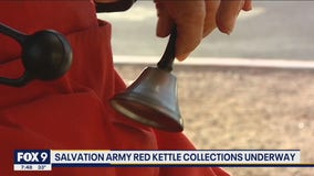 Salvation Army bell ringers are back in swing