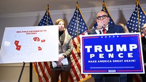 President Trump's attorney Rudy Giuliani presses election challenge case in fiery news conference