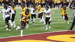 Gophers hold off Purdue 34-31 in controversial finish at TCF Bank Stadium