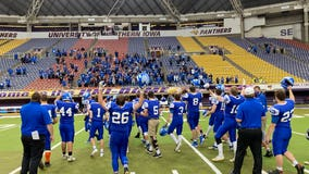 Iowa high school football teams score a combined 202 points in 8-man playoff shootout