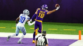 Thielen, Cleveland, Irv Smith Jr. among Vikings out Sunday against Panthers