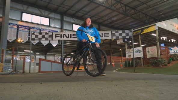 'It just captivated me': Minnesota mom embraces BMX racing