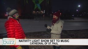 The Cathedral of St. Paul will be the canvas for a large-scale light show