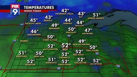 October-like temperatures reported in Twin Cities, more warmth expected Thursday