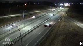Video: Plane lands on I-35W in Arden Hills
