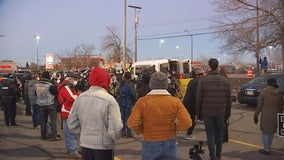 Marchers call for charges against former St. Paul officer who shot man last weekend